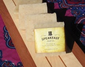 Clove and Patchouli Speakeasy Soap, vegan, handmade