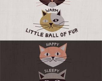 Soft Kitty - Big Bang Theory -  Art Print