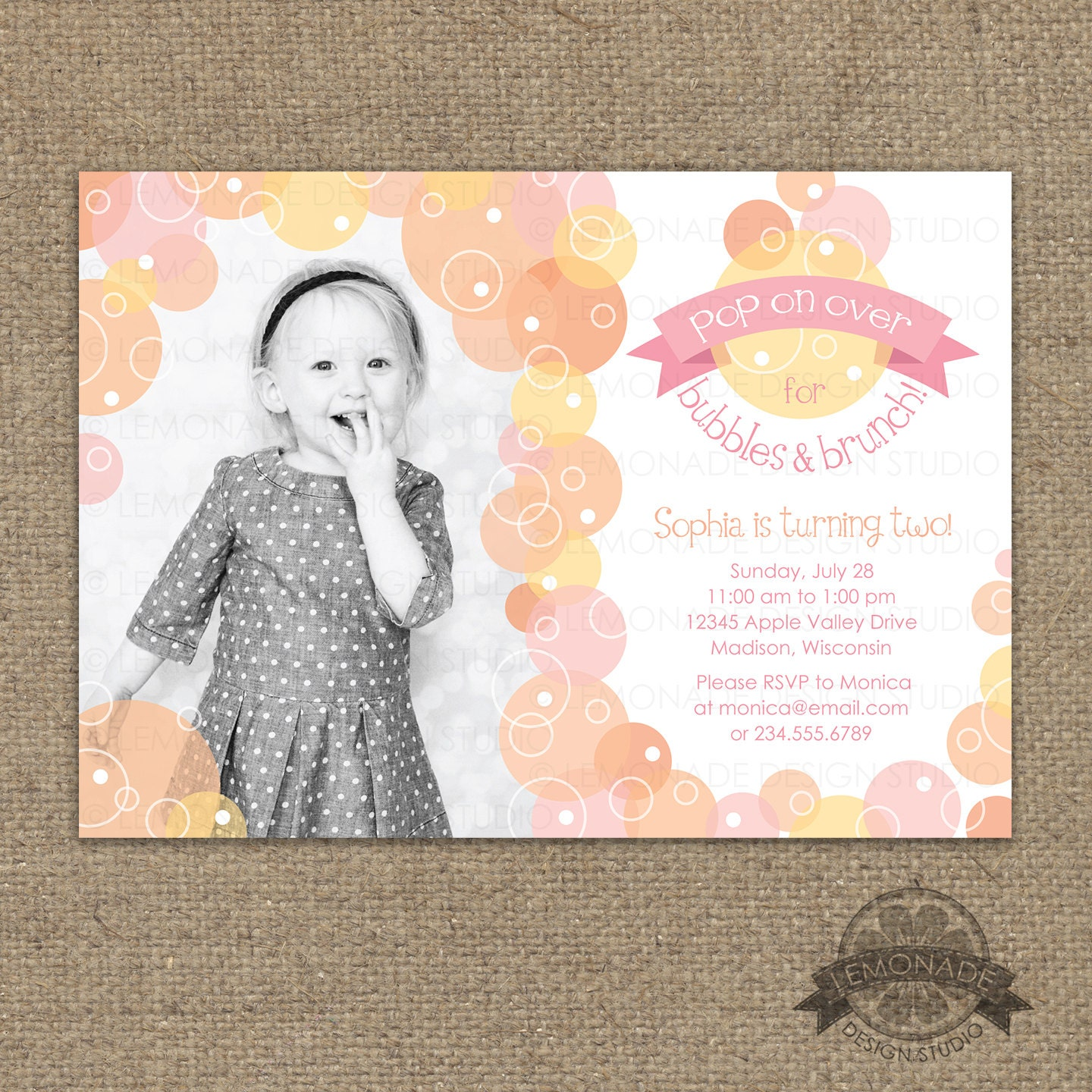E Invite For First Birthday Experience Resume Template Sample - Email invitation for first birthday party