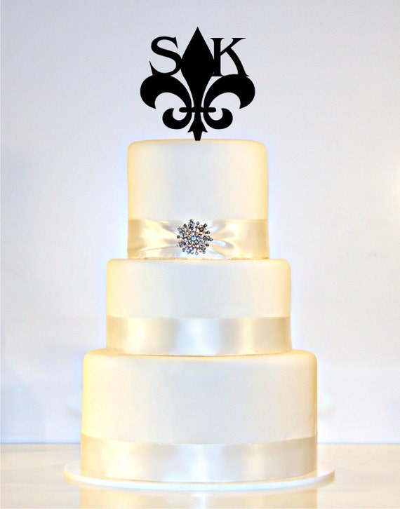 Wedding Cakes That Have Name L K