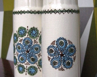 Lovely Set of Vintage 70's Salt and Pepper Shakers...
