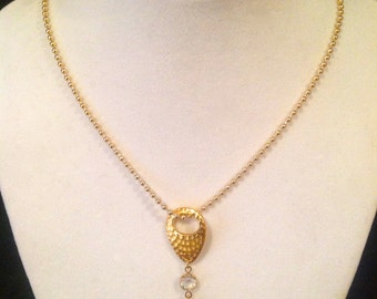 Gold & Bling Necklace