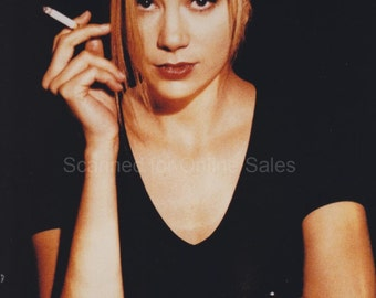 Wise Girls Mira Sorvino Lights Up 4x6 Photo
