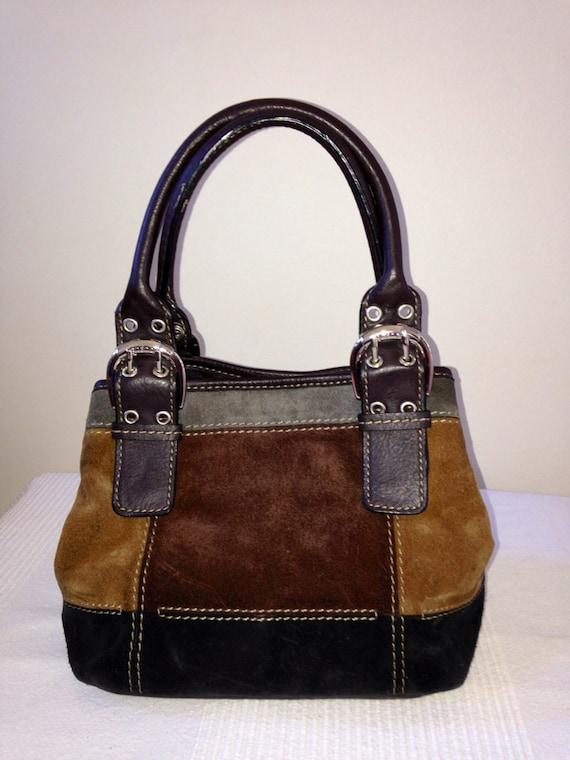 how to clean leather purse from jean stain