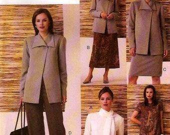 Vogue 7836 Career Women FIVE EASY PIECES