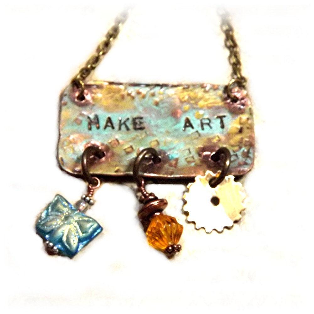 Make Art Steampunk Necklace steampunk buy now online