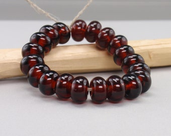 25 % off - 20 Spacer - Handmade Lampwork Beads - S 5