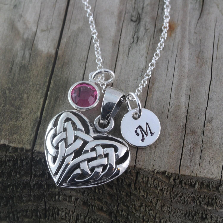 celtic heart pendant irish jewelry celtic love knot. Black Bedroom Furniture Sets. Home Design Ideas