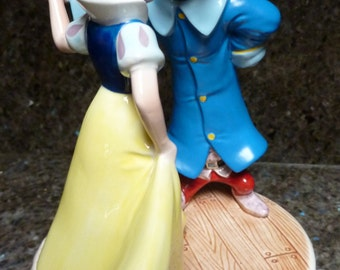 """Disney Snow White Dopey Schmid Music Box """"Someday My Prince Will Come"""""""