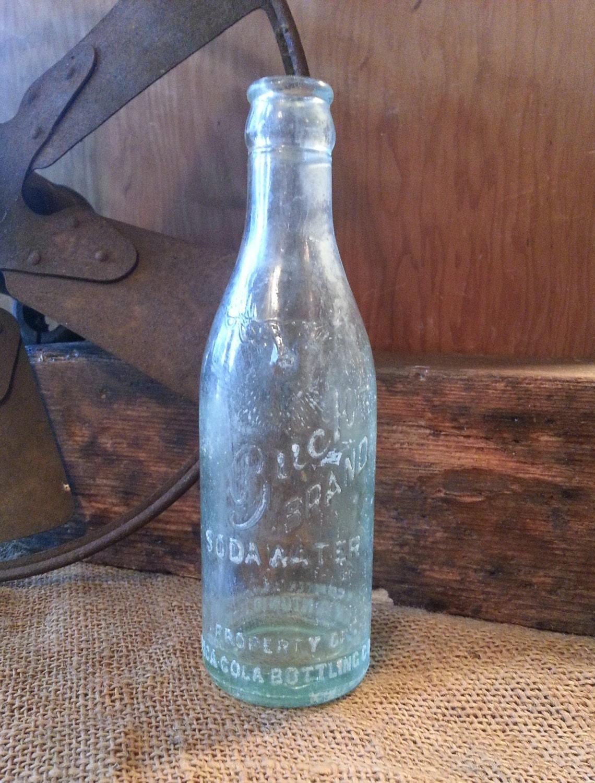 Pump Water Bottle Coca Cola Water Bottle 1930's Coca