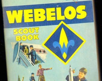 Webelos Scout Book Boy Scouts of America No 3209 BSA Vintage Classic 1967 Cub Scout