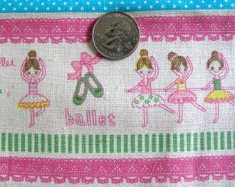 J'aime Le BALLET Japanese/French Fabric 1FQ