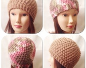 Honeycomb Beanie Crochet Pattern
