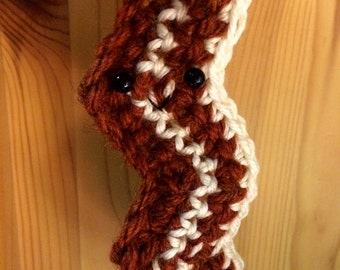 Crochet Bacon Ornament
