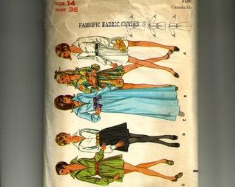 Butterick Misses' One-Piece Dress Pattern 5614