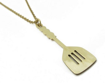 Flip It Spatula Necklace