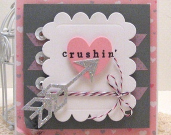 crushin' - Card and Envelope