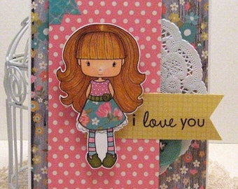 i love you - Card and Envelope