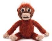 Baby Orangutan Knitting Pattern
