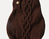 MADE TO MEASURE Classic  dog or pet hand knitted sweater - 100 percent wool
