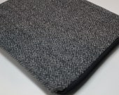 Water resistant iPad Pro Sleeve Case Cover - Padded -Herringbone Wool