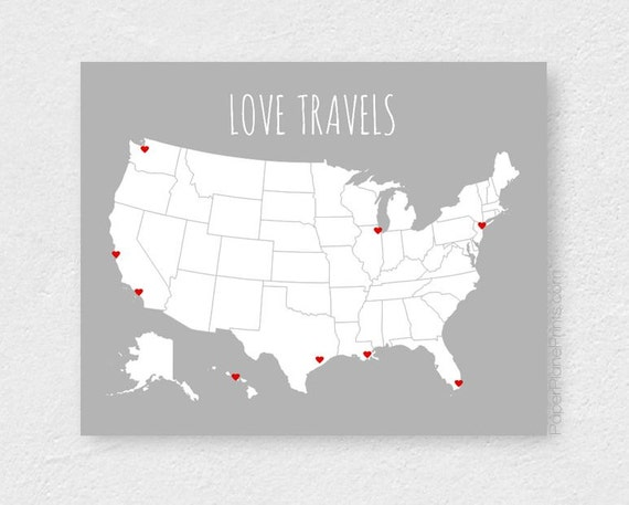 USA Travel Map Blank United States Map Road Trip – Travel Map Of Usa