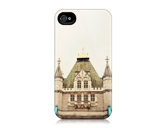 50% OFF - Dear Old London - iPhone Case for iPhone 4 and 4S - London Photograph, Tower Bridge, Architecture, Travel Photography