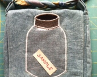 SAMPLE in a Jar Phish Hip Pouch/Purse Combo