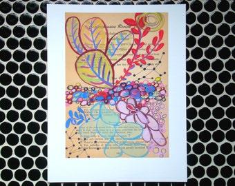 Botanical Study (Foliage) - Fine Art Giclee Print