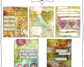 Journal Jumps Bundle Pack - Digital Elements by Roben-Marie Smith