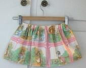 beatrix potter toddler skirt