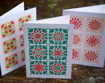 Granny Square Greeting cards
