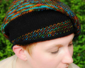 Tamberet - Beret Knitting Pattern - PDF format Digital Download