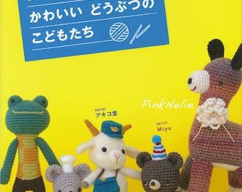 Cute Amigurumi Animals - Japanese Craft Book