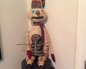 Primitive Snowman Day of the Dead