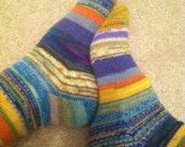 Stripey Socks Ladies' size 7-8
