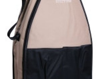 Ashford Strudy Gray and Black Canvas Carry Bag For Joy Spinning Wheel