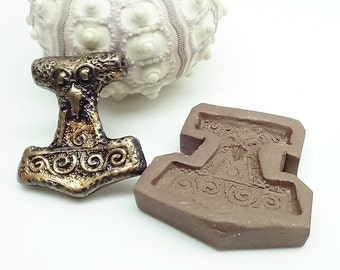 Thors Hammer Mold Style 2 - Polymer Clay