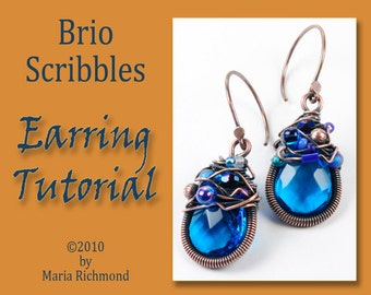 Brio Scribbles Earring Tutorial