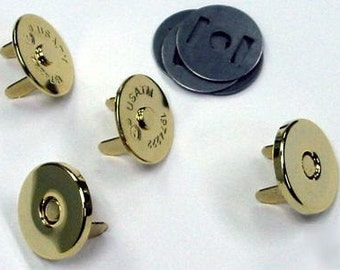 Magnetic SNAP - 14mm Gold - Metal