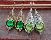TUTORIAL Herringbone Leaf Earrings TUTORIAL