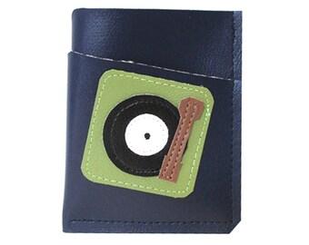 Turntable ) Mini Card Wallet