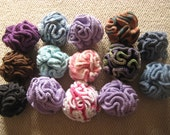 Various Crocheted Soap Bath Scrubbies Puff One Hundred Percent Cotton