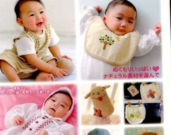 Handsewn Gentle BABY GOODS - Japanese Book