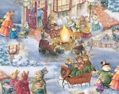 Celebrating Christmas - By Susan Wheeler - From David's Textiles - 6.95 Per Yard