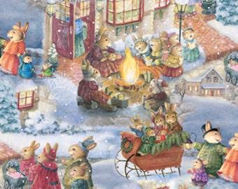 Celebrating Christmas - By Susan Wheeler - From David's Textiles - 6.95 Per Yard