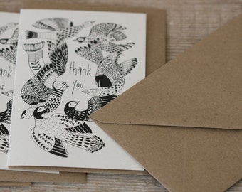 Flock - Thank You Card