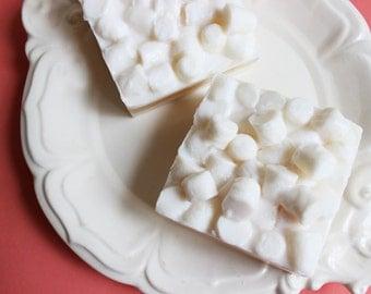 Toasted Marshmallow Soap Bar - Mini Marshmallow Soap, Soap Favors, Soap Bar, Food Soap, Dessert Soap, Fun Soap, Soap Gift, Novelty Soap