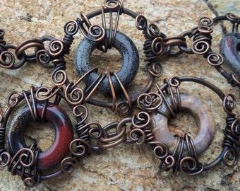 Swirled Bracelet Jewelry Tutorial PDF - INSTANT Download