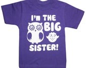 Kids I'm the BIG SISTER T-shirt